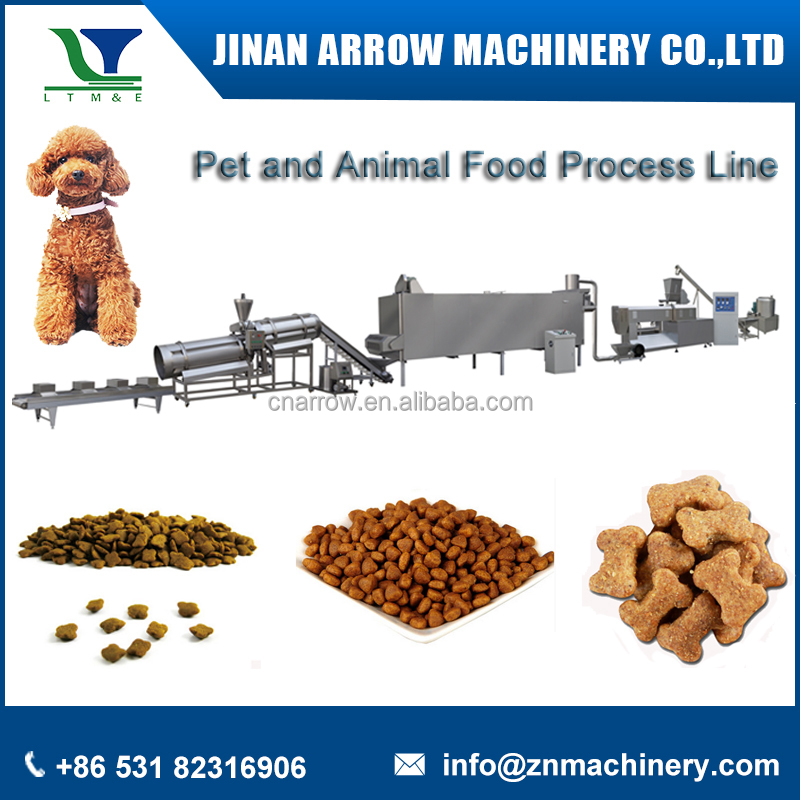 Hot Sale China Extruding Pellet Cat Dog Pet Food Making Machine