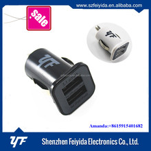 Electric Type and usb dual phone 5v 1a 5w usb car charger