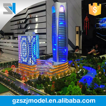 1: 100 Scale complex commercial building model,architectural model kits