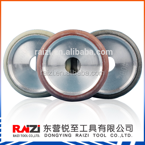 4 Inch Resin Bond Grinding Wet Use Diamond Fluting Wheel