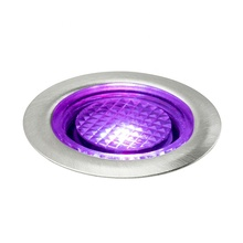 Pack of <strong>10</strong> <strong>x</strong> 40mm RGB Plinth Light/ Outdoor RGB LED Plinth Light/IP67 Garden LED Light for RGB LED Plinth Light Kits