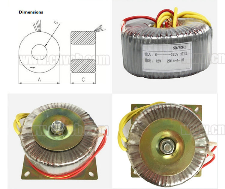 220v single phase transformer/voltage regulator for wind generator