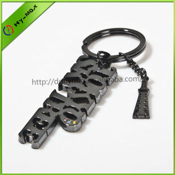 Customized shape metal keychain manufacturers