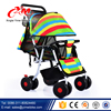 2017 New design small size light weight 400D plain polyester baby stroller / cheap baby pram / baby carriage 3 in 1