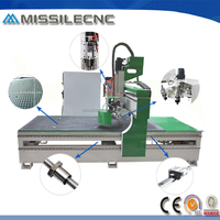 Jinan Missile woodworking cnc router machine cnc router 3d laser scanner
