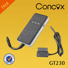 Concox Factory Price Excellent OBD II Vehicle GPS GPRS Tracker GT230 with GPS+AGPS+LBS Accurate Triple-locating Function