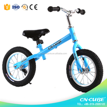 Air wheels and no pedal kids balance bike / children balance bicycle for UK