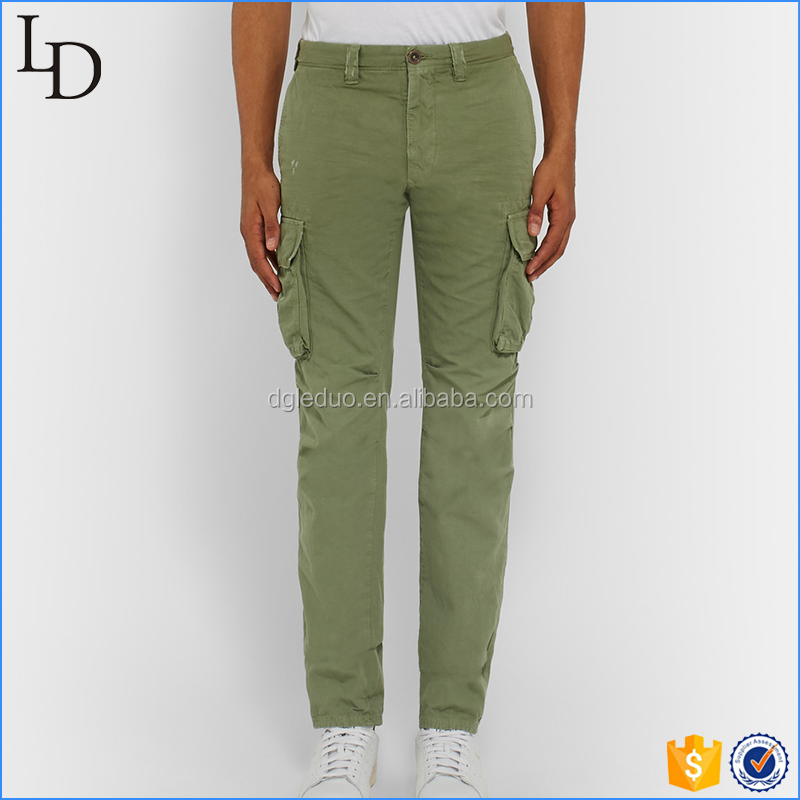 High quality Casual pockets men Trousers Comfortable work Chino Pants