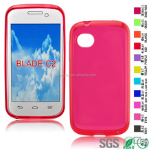 colored back cover housing Dustproof cell phone cases for ZTE blade c2
