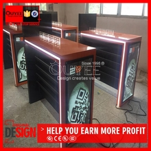 Guangzhou Top Quality Mobile Phone Exhibition Booth , Fashin Style Mobile Store Design For Sale