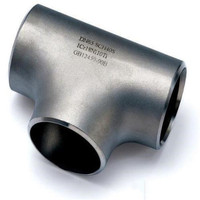 Ms pipe Fittings large size SCH80 Reducing Tee