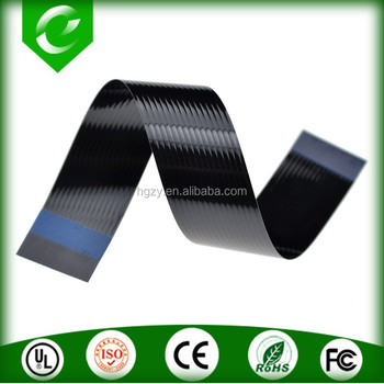 Black wire ribbon cable
