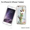 Factory directly supply decor phone skin for iphone 7 cell phone skin universal