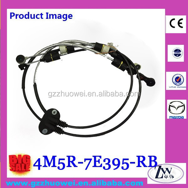 Top Quality MT Shift Cable Manual Transmission Cable for Auto 1.8L 4M5R-7E395-RB