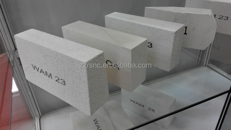 Light weight insulation mullite bricks\refractory material light weight mullite insulation brick for glass furnace