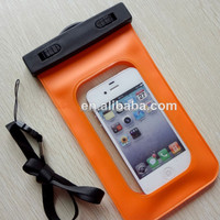Wp-160 20m For Iphone 4 5 Sealed High Quality Pvc Waterproof Bags For Phones