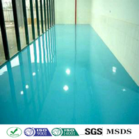 epoxy polyurethane floor industrial paint