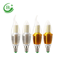 High quality 12w led filament bulb , e14 e27 led candle light IC 1200lumen