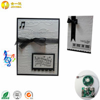 Programmable Music Craft Christmas Greeting Card with Sound Chip for Gift