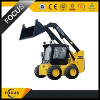 hot sale XCMG Chinese small mini loader with loading and digging
