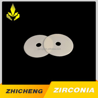 Round Zirconia Ceramic Substrate For Machine