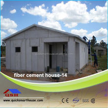 easy assembled prefabricated house modular homes villa/eps cement wall panel