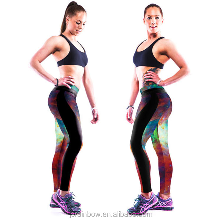 New arrival 2015 digital print women leggings wholesale yoga pants