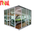China supplier latest design aluminum corner sliding door