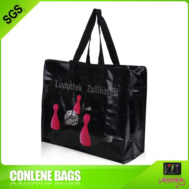 metallic promotional tote bags