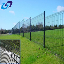 Welded Q235 powder coated rigid welded wire mesh fence panels
