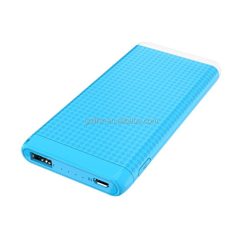 High-end quality portable LED power bank,backup battery for mobile phone 4000mAh