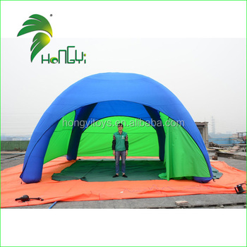 2017 Hot New Products Advertising Full Cover Giant Inflatable Spider Dome Tent For Sale
