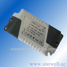 7w 350ma constant current led driver with CE ROHS GS Certificate external driver led