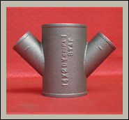 Hubless Cast Iron Soil Pipe Fitting:Double Wye
