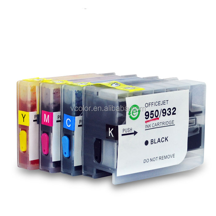 Jiacheng refillable ink cartridge with chip for HP950 950 951 951XL for HP Officejet pro 8100 8600 251 276 DW cr770 cv136a