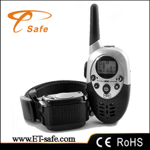 animal training collar New charging of dog training unit vibration and shock dog training collar
