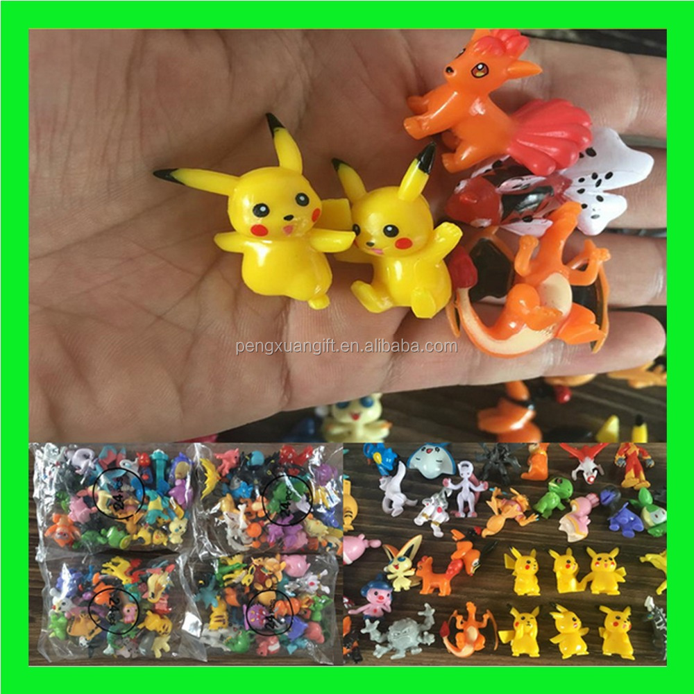 Hot Selling 144pcs Pokemon Pocket Monsters Action Figure Anime Pokemon Go Figure Toys Plastic Pokemon Pikachu Figures