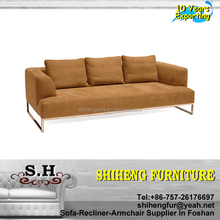Simple Low Cost Moden Living Room Fabric Sofa Furniture A919