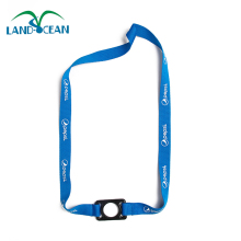 Cheap water bottle holder custom neck lanyard mobile strap