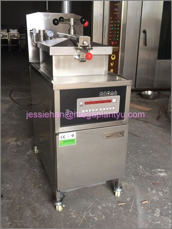 Hotseeling Gas chicken/duch Pressure fryer/deep fryer with mechanical panel for sale