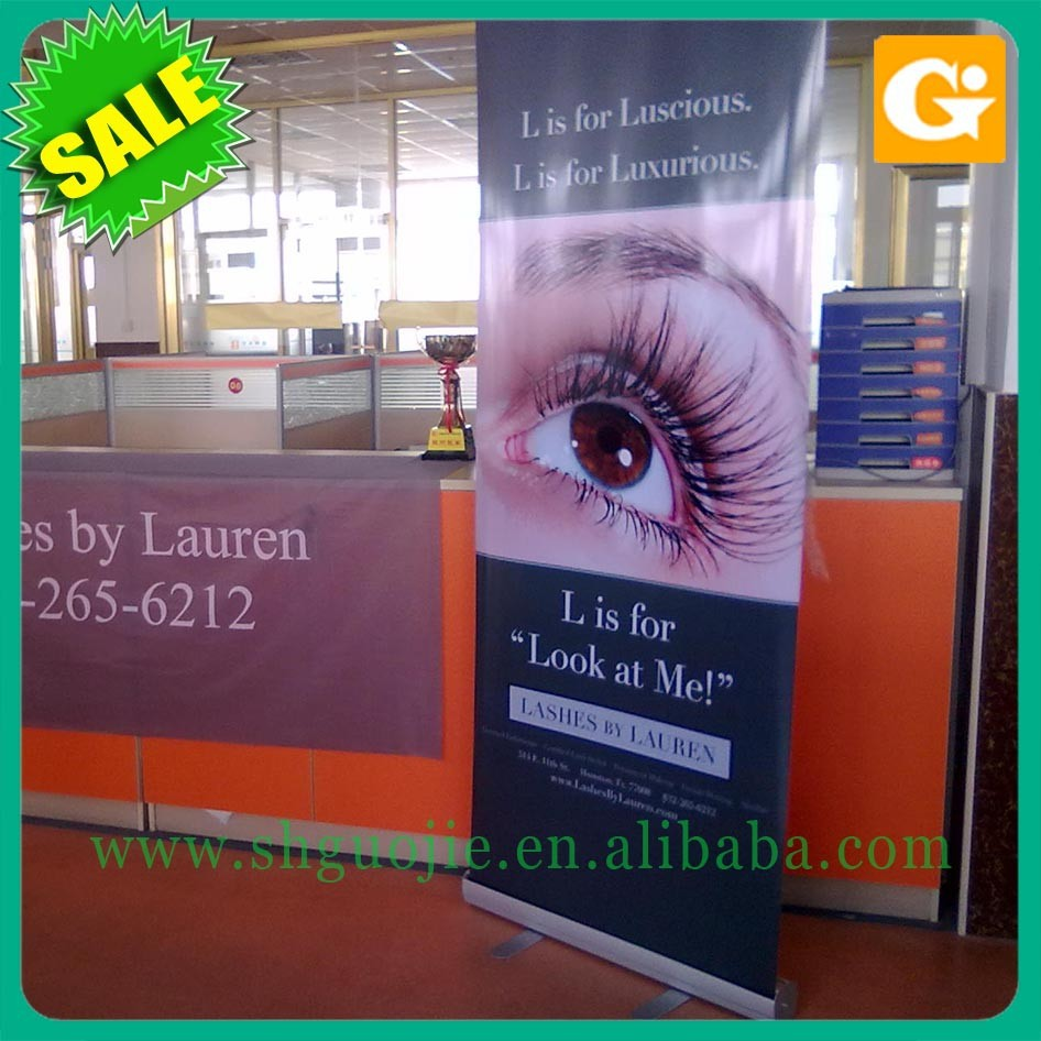 Aluminum Material and advertising,display Usage roll up banner