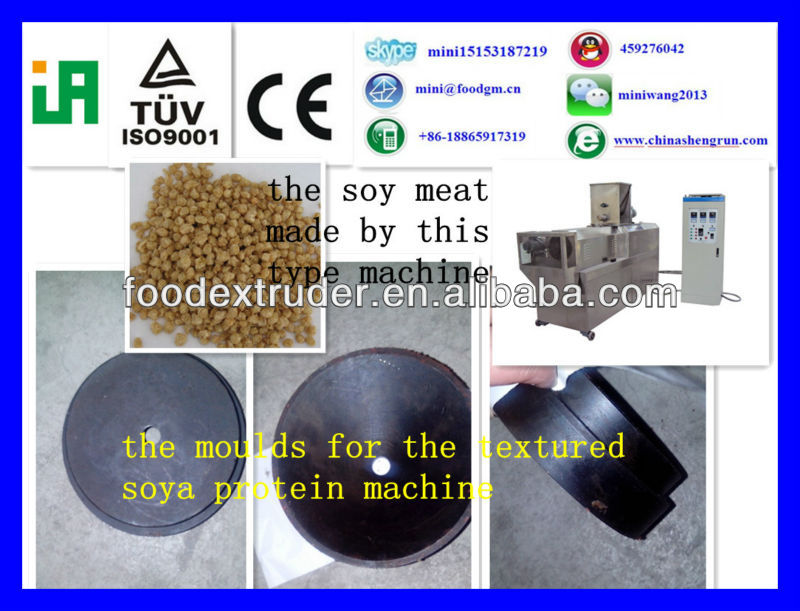 Textured vegetable/ soy protein machinery/Textured soy protein making machine