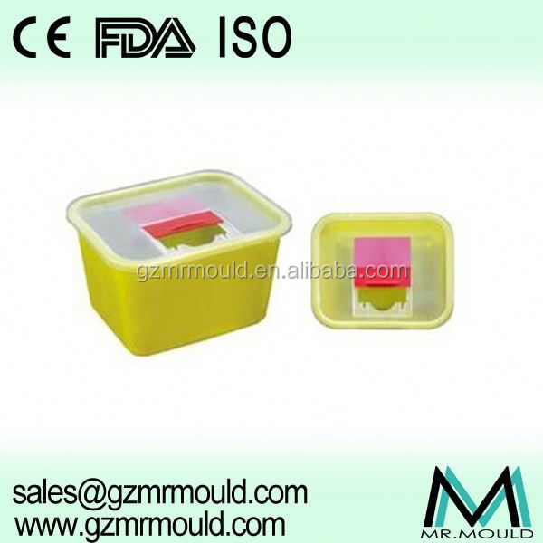 Plastic 50L Medical waste bin for health care