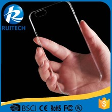 full cover protective soft Transparent clear ultra cases for iphone 5 /5s/6/6s