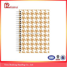 Most popular custom design promotion a4 spiral notebook wholesale