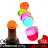 Custom Logo Any Pantone Colors Silicone Bottle Cover Caps Beer Savers