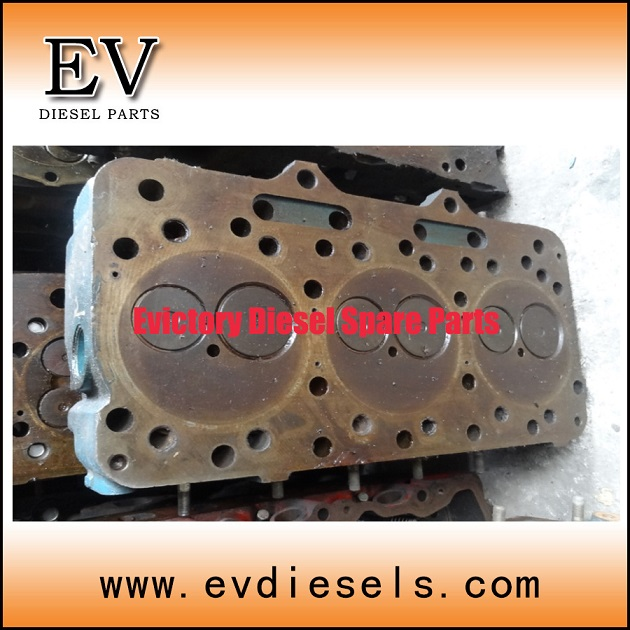 cylinder head FE6T FE6TA FE6 engine parts - used on NISSAN diesel engines