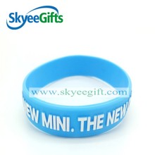 wholesale custom silicone wristband rubber bracelet for men