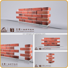 Light Weight Fake Brick Cladding Wall Panel