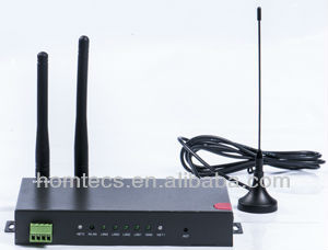 Industrial M2M 4 port RS232 DB9 3g 4g ite router for ATM, Pos, Kiosk, IP Camera wifi modems H50 series